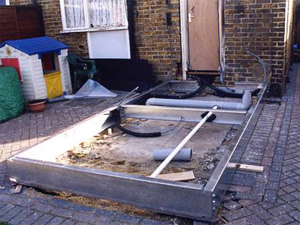 Case study – Heli Pile bathroom foundations for Sutton council