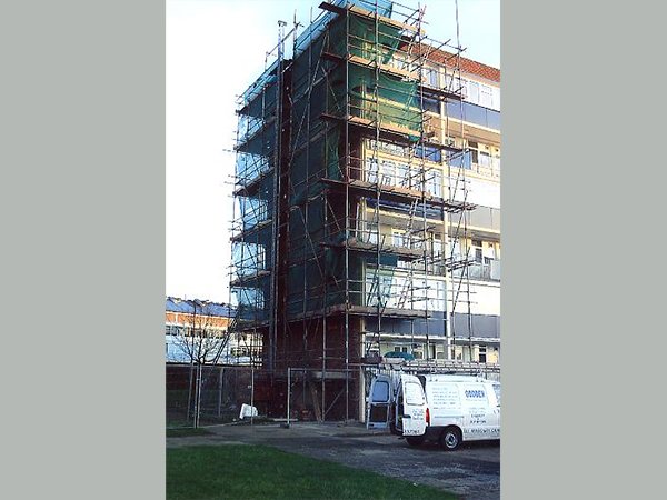Case study – repairs to Constable House, London Borough of Enflied using Dry Flex Ties