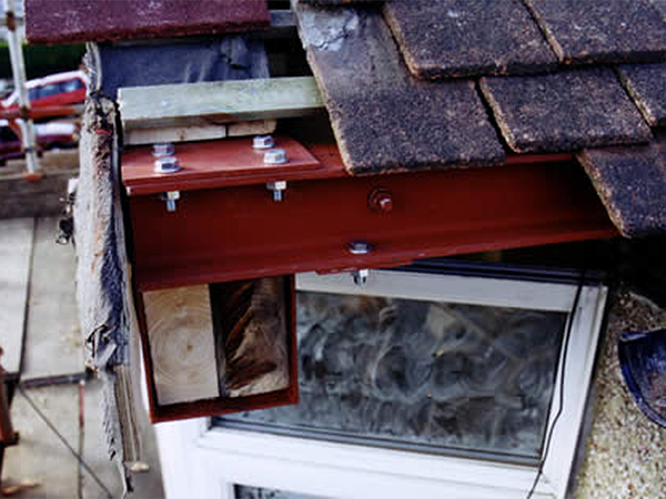 Case study – rebuilding gable and bay window