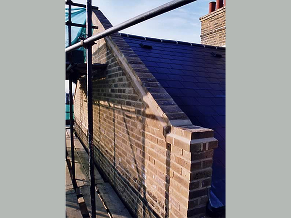 Case study – rebuilding gable