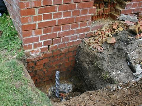 Services - repairing retaining wall
