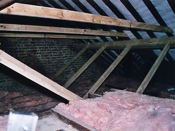 Services - roof strengthening